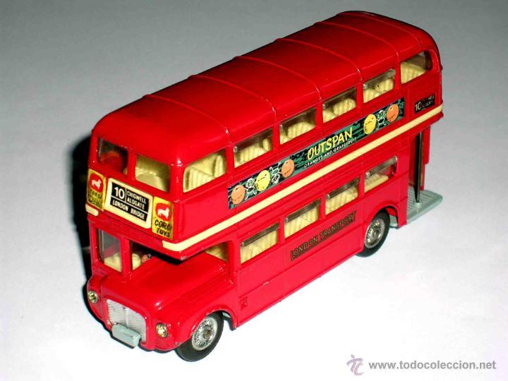 AUTOBUS DOS PISOS LONDON ROUTEMASTER REF. 468, CORGI TOYS, ORIGINAL AÑOS 60. (Juguetes - Coches a Escala 1:43 Corgi Toys)