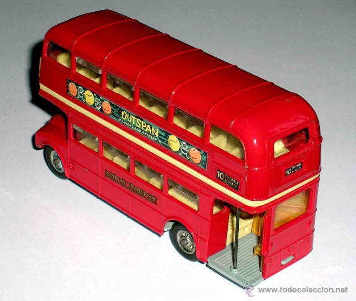 Coches a escala: Autobus dos pisos London Routemaster ref. 468, Corgi Toys, original años 60. - Foto 2 - 47465248