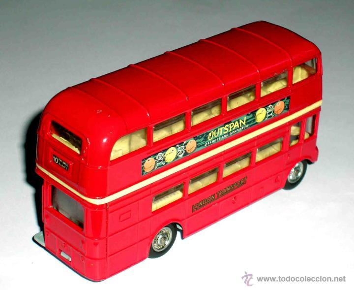 Coches a escala: Autobus dos pisos London Routemaster ref. 468, Corgi Toys, original años 60. - Foto 3 - 47465248
