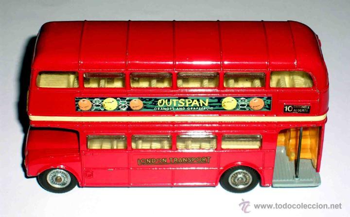 Coches a escala: Autobus dos pisos London Routemaster ref. 468, Corgi Toys, original años 60. - Foto 5 - 47465248