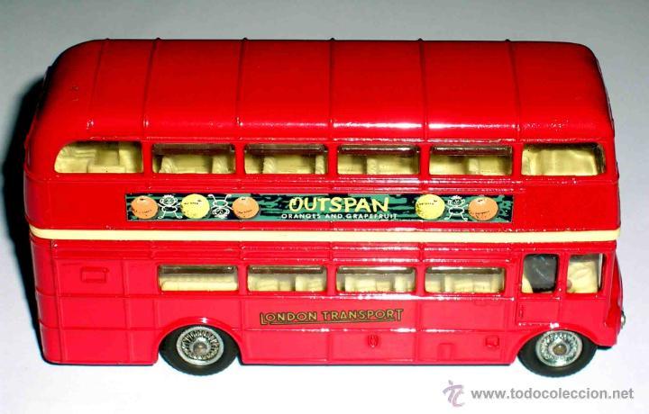 Coches a escala: Autobus dos pisos London Routemaster ref. 468, Corgi Toys, original años 60. - Foto 6 - 47465248