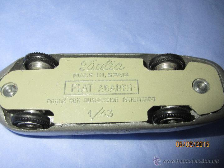 Coches a escala: Antiguo FIAT ABARTH en Escala 1/43 de DALIA Made in Spain - Año 1960s. - Foto 2 - 47598246