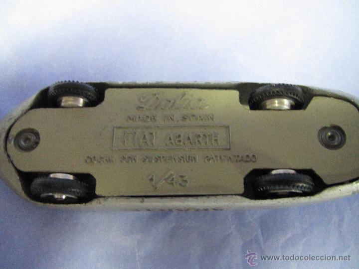 Coches a escala: Antiguo FIAT ABARTH en Escala 1/43 de DALIA Made in Spain - Año 1960s. - Foto 5 - 47598246