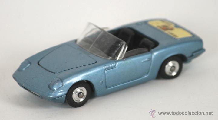 LOTUS ELAN S2 CABRIOLET EN METAL. CORGI TOYS. REF 318. 1/43. GT BRITAIN. 1960. (Juguetes - Coches a Escala 1:43 Corgi Toys)