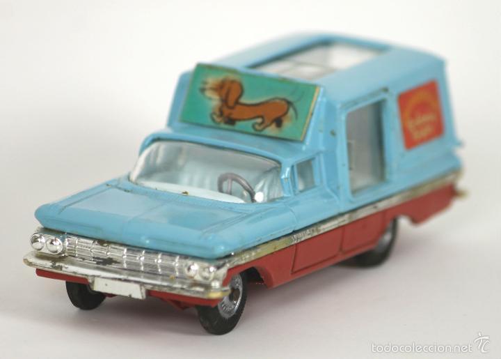 CHEVROLET IMAPALA CHIPPERFIELS EN METAL. CORGI TOYS. 1/43. REF 511. AÑO 1958 (Juguetes - Coches a Escala 1:43 Corgi Toys)