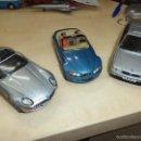 Coches a escala: LOTE COLECCIÓN BMW DE CORGI.JAMES BOND 007 GOLDEN EYE 1995.750 I,Z3 Y Z8.. Lote 55389956