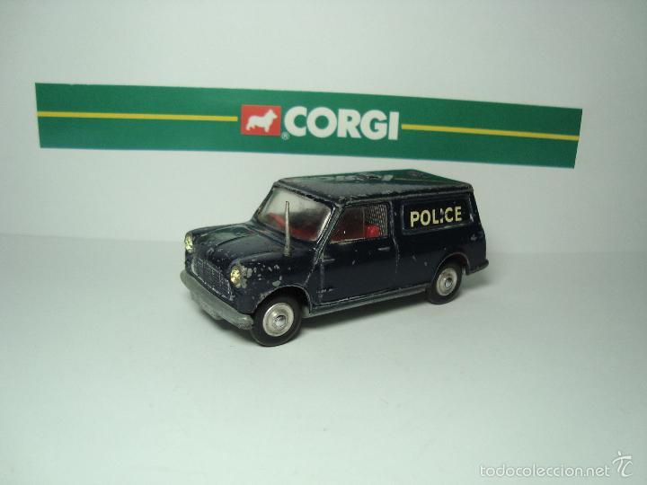 Coches a escala: MINI MORRIS AUSTIN MINIVAN POLICIA DE CORGI TOYS 1,43 - Foto 2 - 26903404