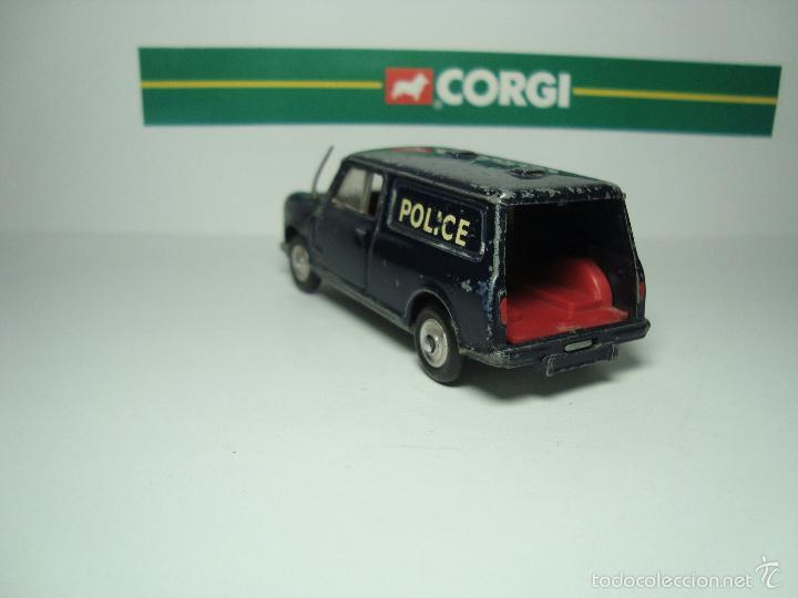 Coches a escala: MINI MORRIS AUSTIN MINIVAN POLICIA DE CORGI TOYS 1,43 - Foto 3 - 26903404