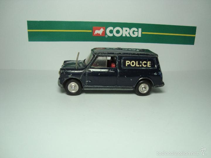 Coches a escala: MINI MORRIS AUSTIN MINIVAN POLICIA DE CORGI TOYS 1,43 - Foto 4 - 26903404