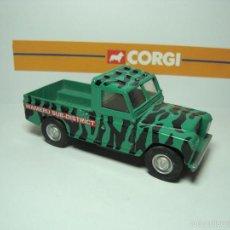 Coches a escala: LAND ROVER SAFARI DE CORGI TOYS 1,43. Lote 37042659