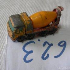 Coches a escala: ANTIGUO CAMION HORMIGONERA - ENVIO GRATIS A ESPAÑA. Lote 57035509
