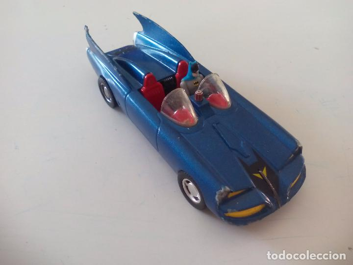 Coches a escala: BATMOBILE 1960 BATIMOVIL - Coche de Batman - 1960 DC Comics - Escala 1/43 - CORGI - Foto 2 - 176075823