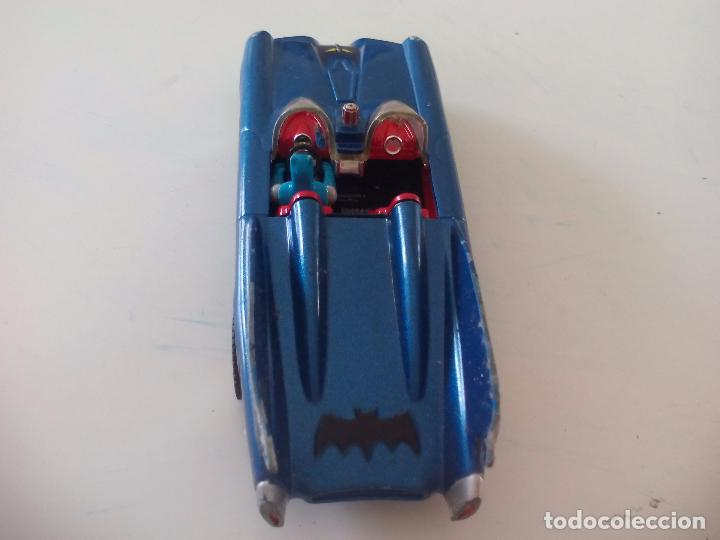 Coches a escala: BATMOBILE 1960 BATIMOVIL - Coche de Batman - 1960 DC Comics - Escala 1/43 - CORGI - Foto 4 - 176075823
