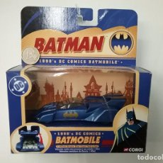 Coches a escala: BATMAN - BATMOBILE - 1990 DC COMICS - CORGI - 2004. Lote 62534072
