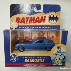Coches a escala: BATMAN - BATMOBILE - 1970 DC COMICS - CORGI - 2004. Lote 62534120