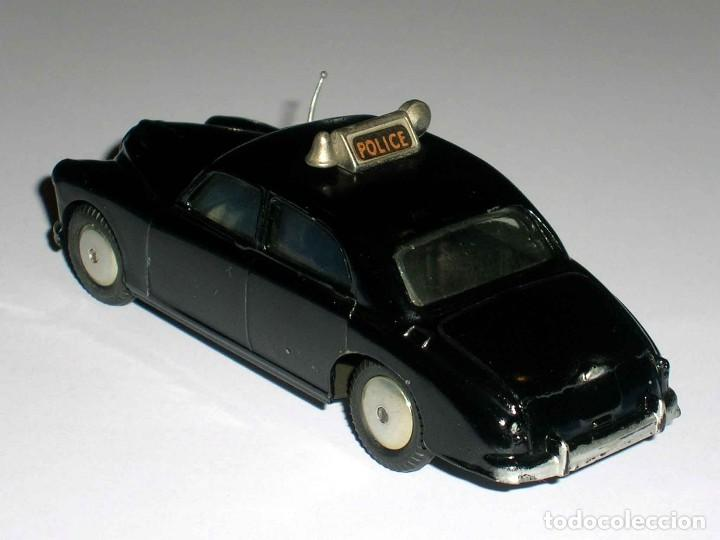 Coches a escala: Riley Pathfinder Police policía ref. 209, metal esc. 1/43, Corgi Toys, original año 1959. - Foto 4 - 68619357