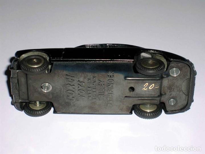 Coches a escala: Riley Pathfinder Police policía ref. 209, metal esc. 1/43, Corgi Toys, original año 1959. - Foto 7 - 68619357