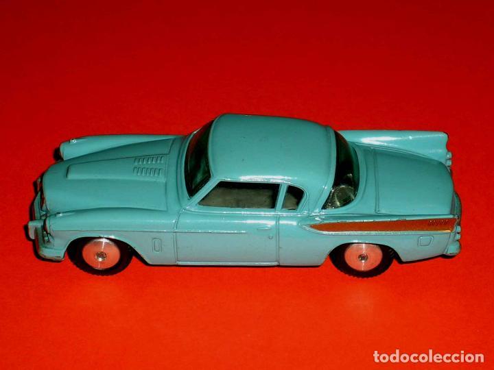 Coches a escala: Studebaker Golden Hawk ref. 211, metal esc. 1/43, Corgi Toys, original años 50. - Foto 3 - 69973437