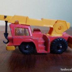 Auto in scala: CORGI JUNIORS GRUA MOBILE CRANE AÑOS 70. Lote 84406020