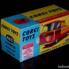 Coches a escala: CAJA VACÍA EMPTY BOX COMMER PICK-UP TRUCK Nº 465, ESC. 1/43, CORGI TOYS. ORIGINAL AÑOS 60.. Lote 87429696