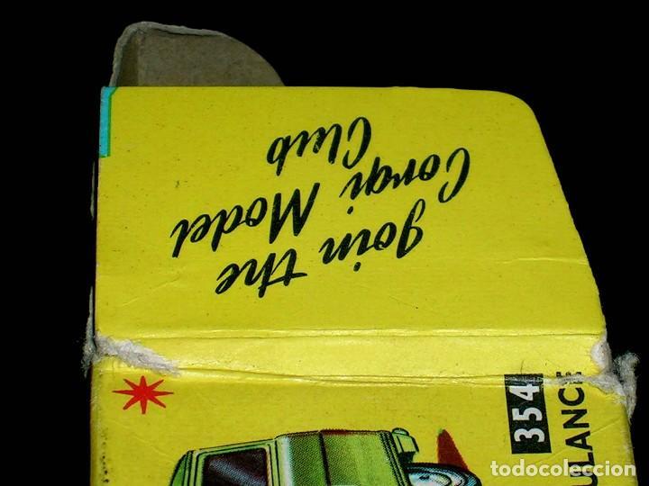 Coches a escala: Caja vacía empty box Commer Military Ambulance ref. 354, esc. 1/43, Corgi Toys. Original años 60. - Foto 4 - 87468188