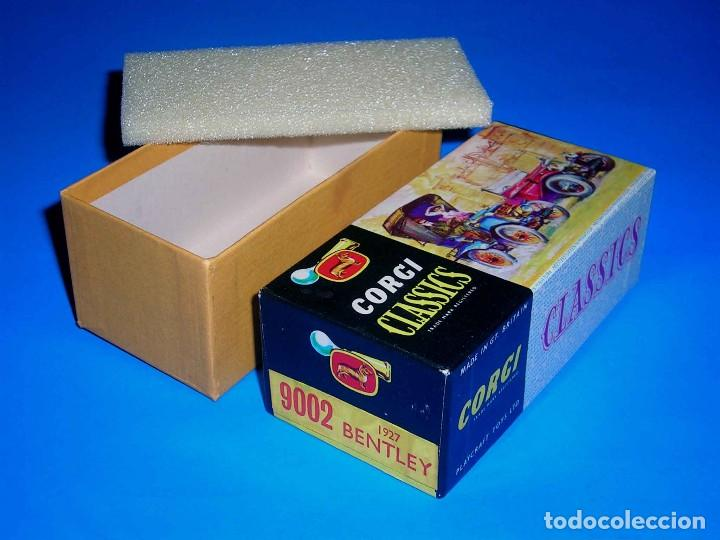 CAJA VACÍA EMPTY BOX BENTLEY 1927 REF. 9002, ESC. 1/43, CORGI TOYS CLASSICS. ORIGINAL AÑOS 60. (Juguetes - Coches a Escala 1:43 Corgi Toys)