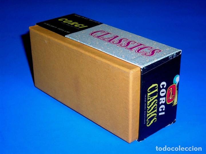 Coches a escala: Caja vacía empty box Bentley 1927 ref. 9002, esc. 1/43, Corgi Toys Classics. Original años 60. - Foto 3 - 87836096