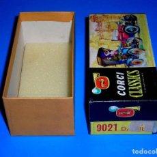Coches a escala: CAJA VACÍA EMPTY BOX DAIMLER 1910 REF. 9021, ESC. 1/43, CORGI TOYS CLASSICS. ORIGINAL AÑOS 60.. Lote 87840060