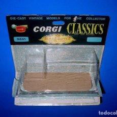 Coches a escala: CAJA VACÍA EMPTY BOX ROLLS ROYCE 1912 REF. 9041, ESC. 1/43, CORGI TOYS CLASSICS. ORIGINAL AÑOS 60.. Lote 87842624