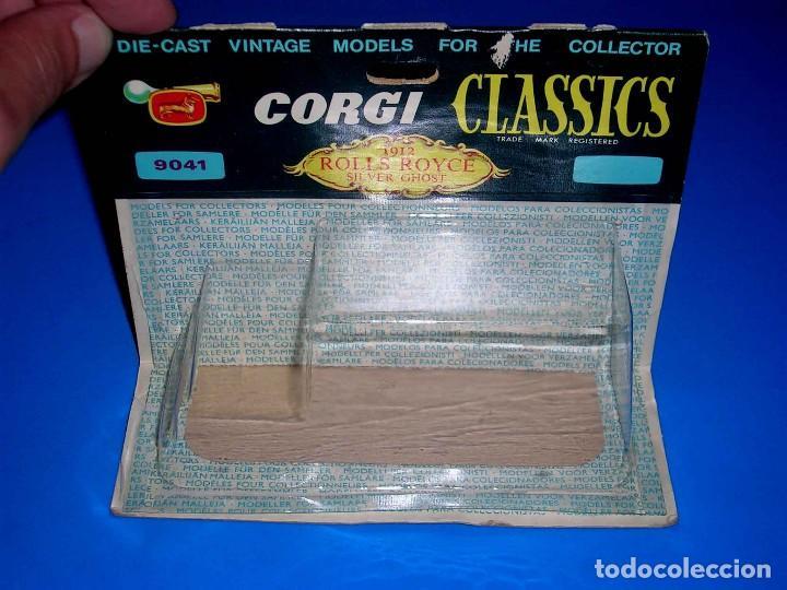 Coches a escala: Caja vacía empty box Rolls Royce 1912 ref. 9041, esc. 1/43, Corgi Toys Classics. Original años 60. - Foto 4 - 87842624