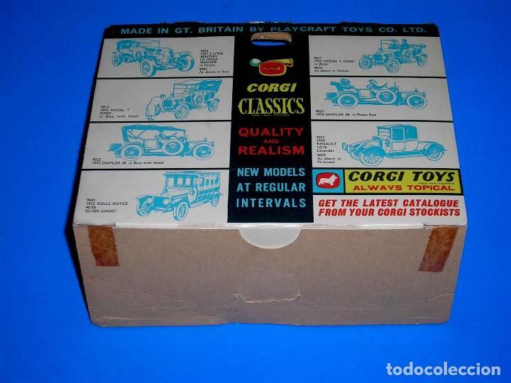 Coches a escala: Caja vacía empty box Rolls Royce 1912 ref. 9041, esc. 1/43, Corgi Toys Classics. Original años 60. - Foto 5 - 87842624