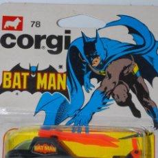 Coches a escala: CORGI TOYS JUNIORS 78 BATMAN BATICÓPTERO MIB NUEVO EN BLISTER. Lote 95884491