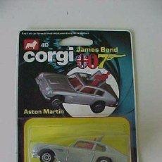 Coches a escala: CORGI 007 JAMES BOND ASTON MARTIN 1979 EN BLISTER NUEVO. Lote 95884707