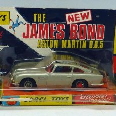 Coches a escala: ASTON MARTIN DB 5 GOLDFINGER JAMES BOND CORGI TOYS 1/43 1968 . Lote 96603231
