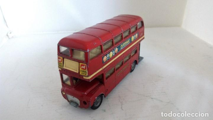 Coches a escala: LONDON TRANSPORT ROUTEMASTER -CORGI TOYS, MEDIDAS 11,5 X 3,5 X 6 CM - Foto 1 - 98713479