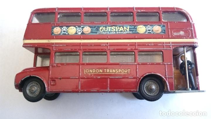 Coches a escala: LONDON TRANSPORT ROUTEMASTER -CORGI TOYS, MEDIDAS 11,5 X 3,5 X 6 CM - Foto 3 - 98713479