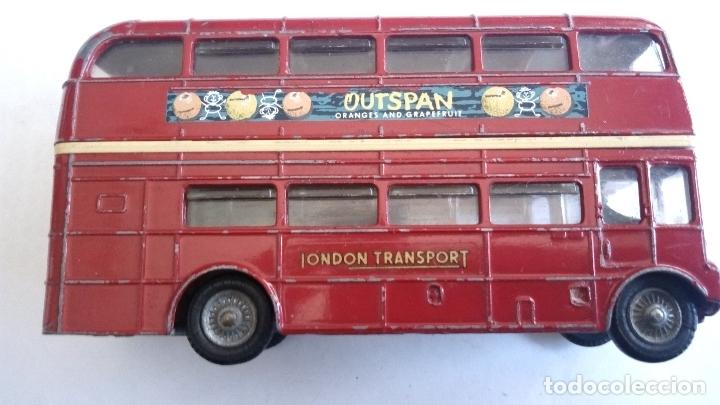 Coches a escala: LONDON TRANSPORT ROUTEMASTER -CORGI TOYS, MEDIDAS 11,5 X 3,5 X 6 CM - Foto 4 - 98713479