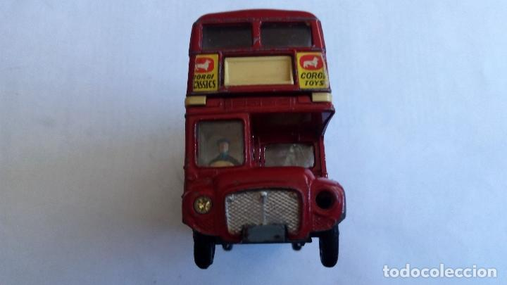 Coches a escala: LONDON TRANSPORT ROUTEMASTER -CORGI TOYS, MEDIDAS 11,5 X 3,5 X 6 CM - Foto 5 - 98713479