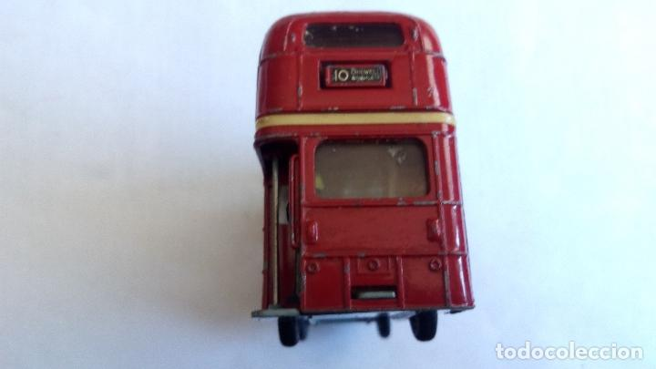 Coches a escala: LONDON TRANSPORT ROUTEMASTER -CORGI TOYS, MEDIDAS 11,5 X 3,5 X 6 CM - Foto 6 - 98713479