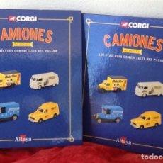 Coches a escala: CAMIONES DE ANTAÑO. CARPETAS ARCHIVADORES Y LAMINAS. ENVIO CERTIFICADO. INCLUIDO.. Lote 101547723