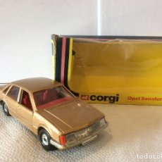 Coches a escala: CORGI NO: 329 'OPEL SENATOR SALOON´' - GOLD (ORIGINAL 1978/BOXED) - FLA. Lote 103120743