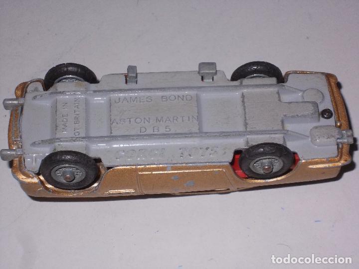 Coches a escala: James Bond Aston Martin D B 5, Corgi Toys, made in Gt. Britain - Foto 12 - 105410667