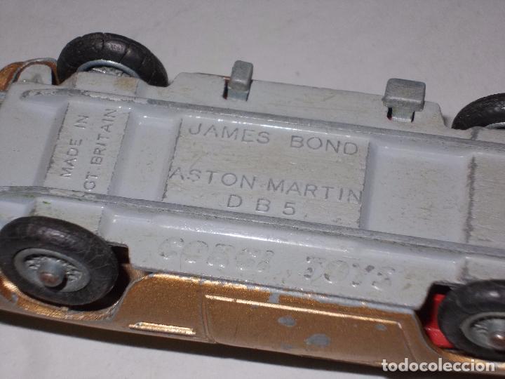 Coches a escala: James Bond Aston Martin D B 5, Corgi Toys, made in Gt. Britain - Foto 14 - 105410667