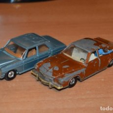 Coches a escala: VINTAGE - LOTE DE 2 COCHES CORGI - ESCALA 1/36 - MERCEDES 240D / BUICK REGAL KOJAK - MADE IN GB - . Lote 108617523