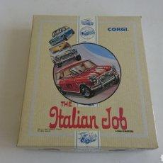 Coches a escala: SET THE ITALIAN JOB CON 3 MINI COOPER EDICIÓN LIMITADA DE CORGI TOYS. Lote 117010223