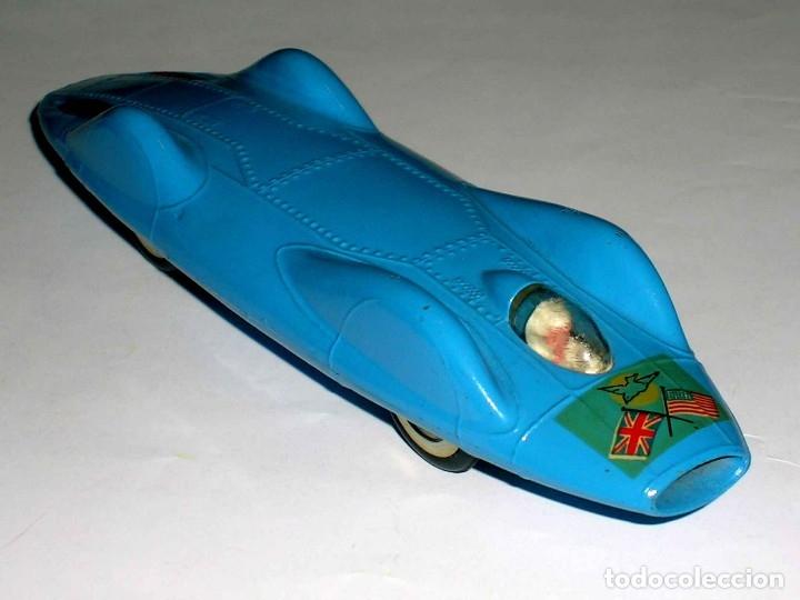 Coches a escala: Proteus Campbell Bluebird ref. 153, fabricado en metal, esc. 1/43, Corgi Toys, original años 60. - Foto 5 - 118184198