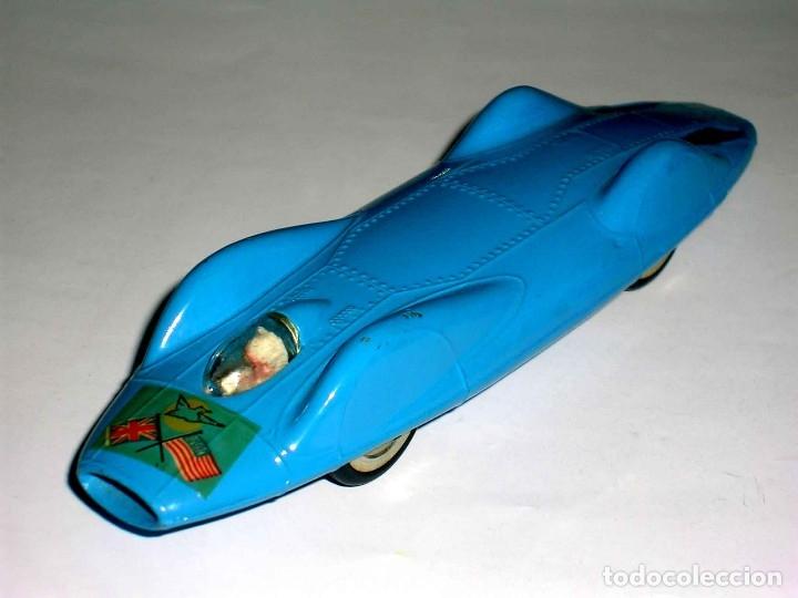 Coches a escala: Proteus Campbell Bluebird ref. 153, fabricado en metal, esc. 1/43, Corgi Toys, original años 60. - Foto 2 - 118184198
