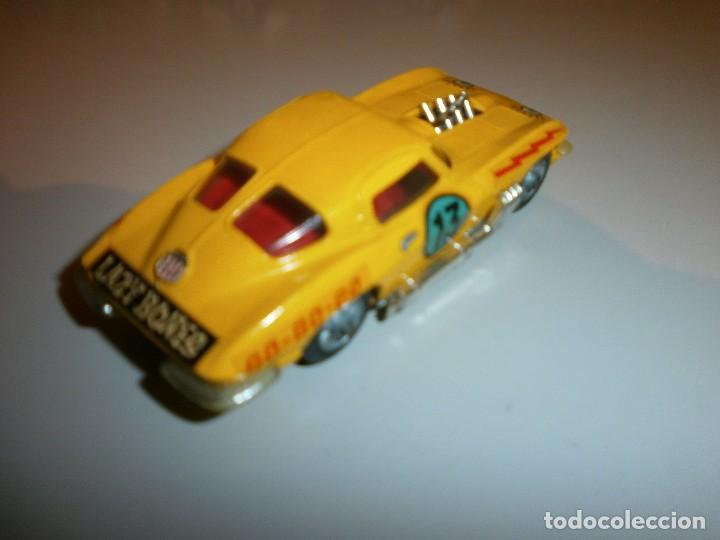 Coches a escala: antiguo corgi toys chevrolet corvette sting ray - Foto 2 - 120434103
