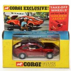 Coches a escala: CORGI TOYS 341 - MINI MARCOS GT 850 - CAJA ORIGINAL - AÑOS 60. Lote 121003875