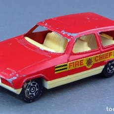 Coches a escala: APLIED FORD BOMBEROS FIRE CHIEF CORGI CUBS 1/43 MADE IN GREAT BRITAIN. Lote 121737235
